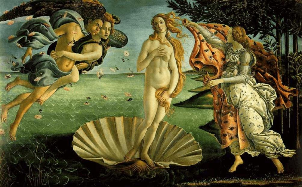 "Sandro Botticelli; ""Venus'"