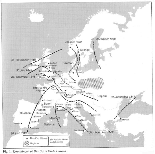 pesten i europa