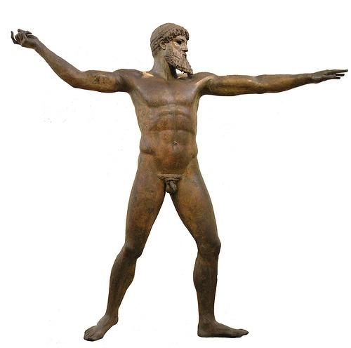 højklassisk tid og skulptur kendetegn